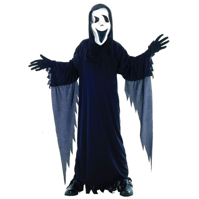 Spooky Halloween Screamer Fancy Dress Costume