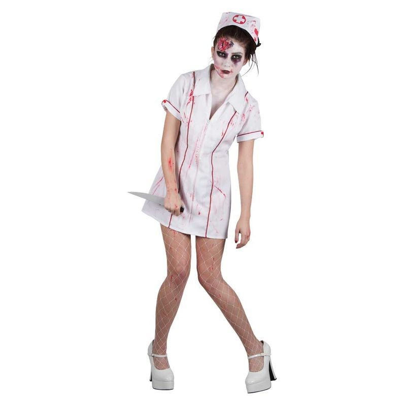 Ladies Killer Zombie Nurse Costume (Halloween)
