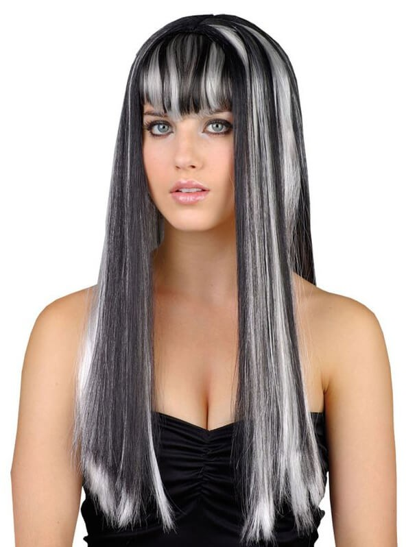 Ladies Dead Gorgeous (Witch) Wig Halloween Fancy Dress Accessory