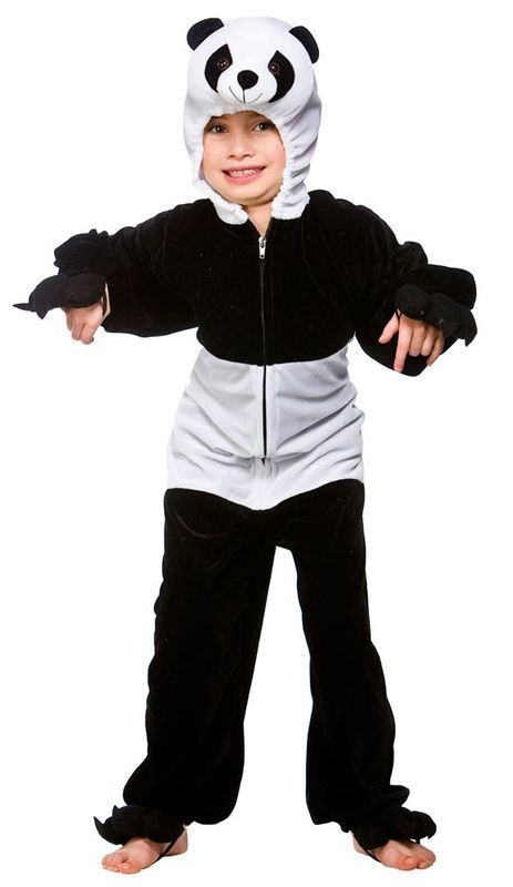 Kids Panda Costume  Fancy Dress (Animals)