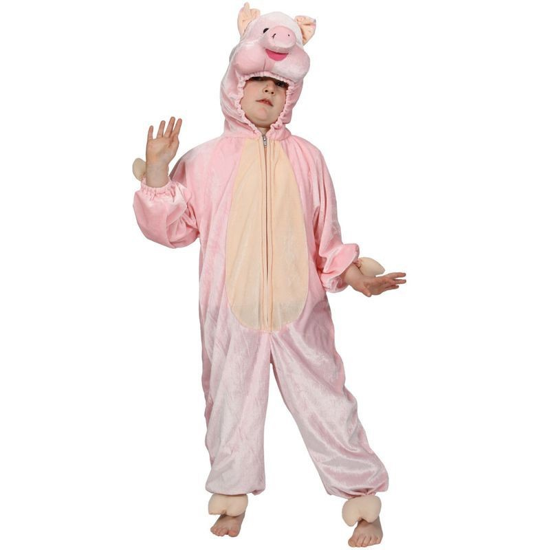 Kids Piggy Costume  Fancy Dress (Animals)