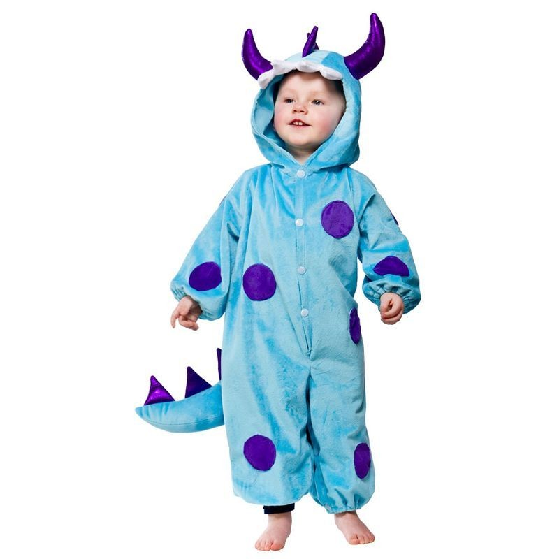 Toddler Blue Monster Animal Outfit - Toddler -> Age To 18M (Blue)