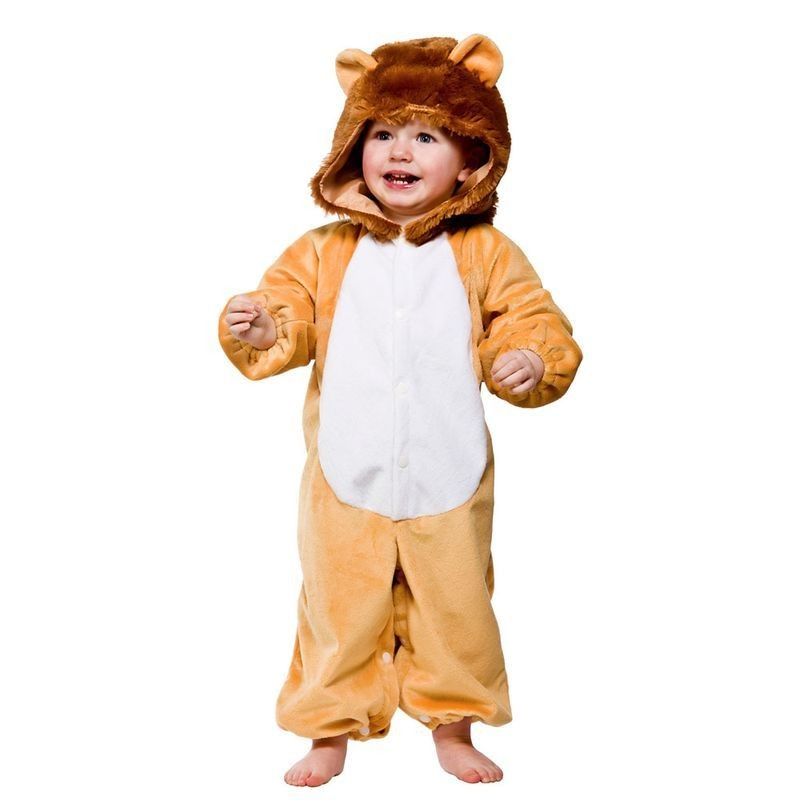 Toddler Lion Animal Outfit - Toddler -> Age To 18M (Yellow)