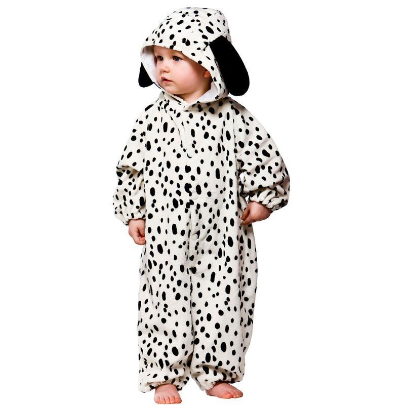 Toddler Dalmation Animal Outfit - Toddler -> Age To 18M (Black, White)