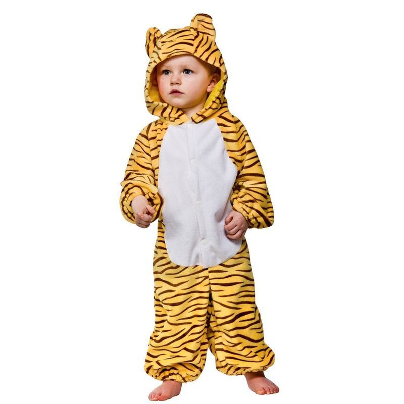 Toddler Tiger Animal Outfit - Toddler -> Age To 18M (Yellow)