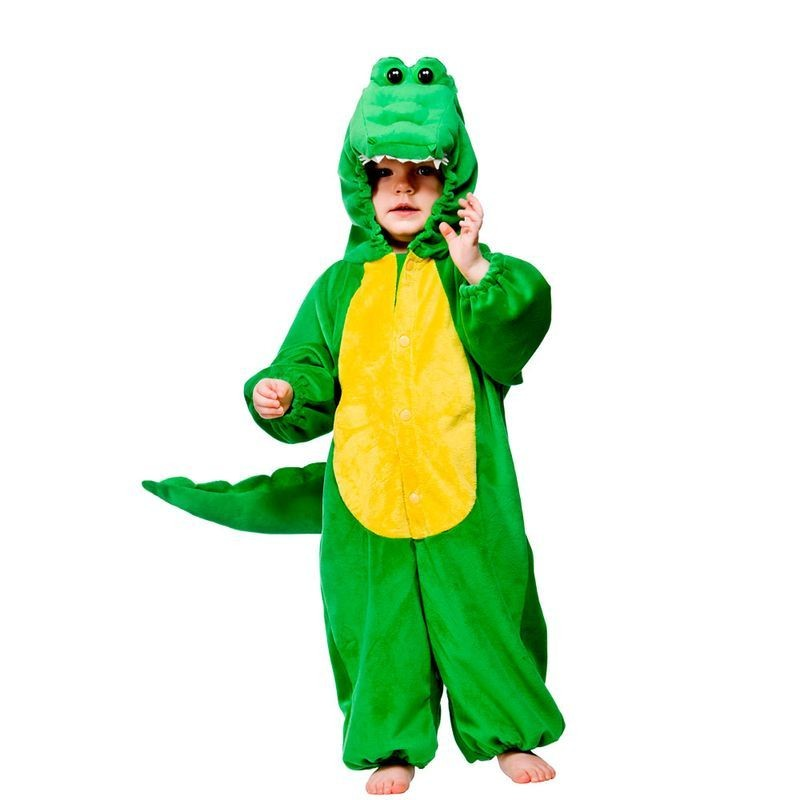 Toddler Crocodile Animal Outfit - Toddler -> Age To 18M (Green)