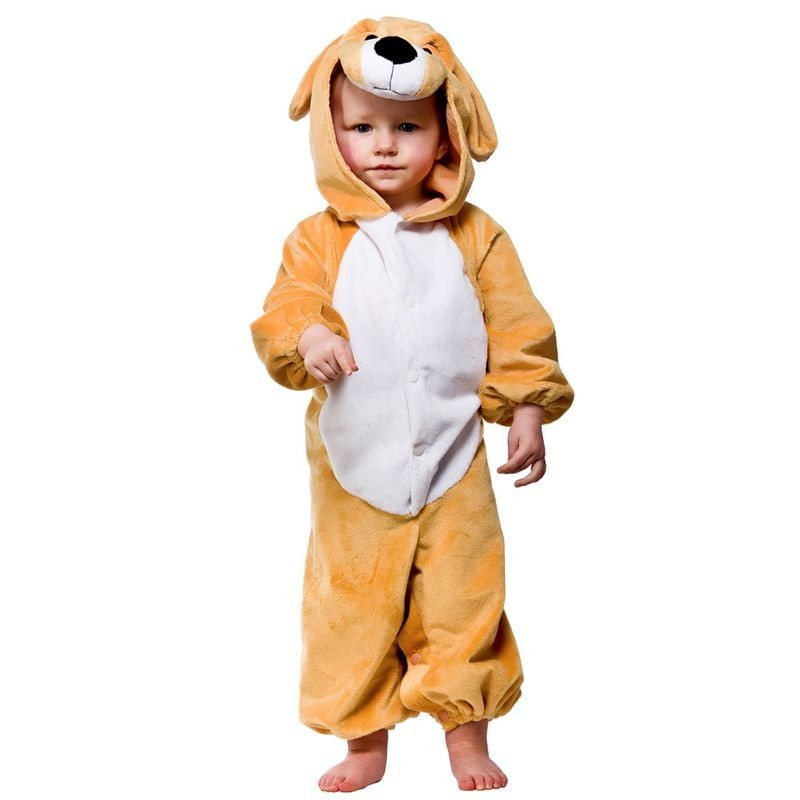 Toddler Puppy Animal Outfit - Toddler -> Age To 18M (Gold)