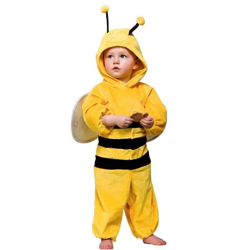 Toddler Bumblebee Animal Outfit - Toddler -> Age To 18M (Yellow)