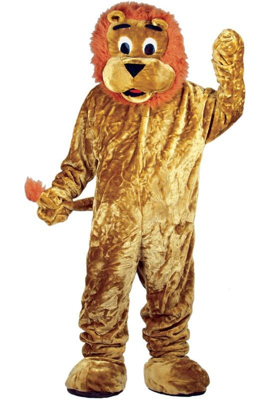 Lion Mascot Fancy Dress Costume (Animals)