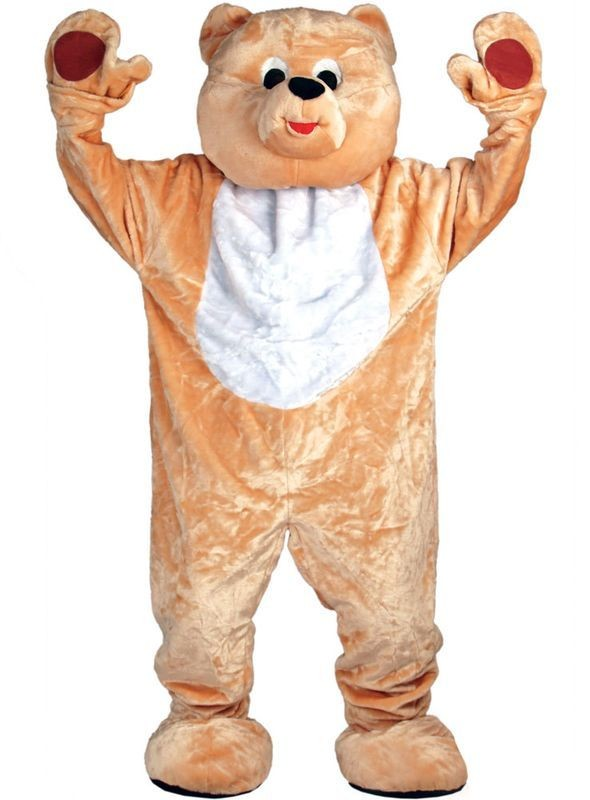 Teddy Bear Mascot Fancy Dress Costume (Animals)