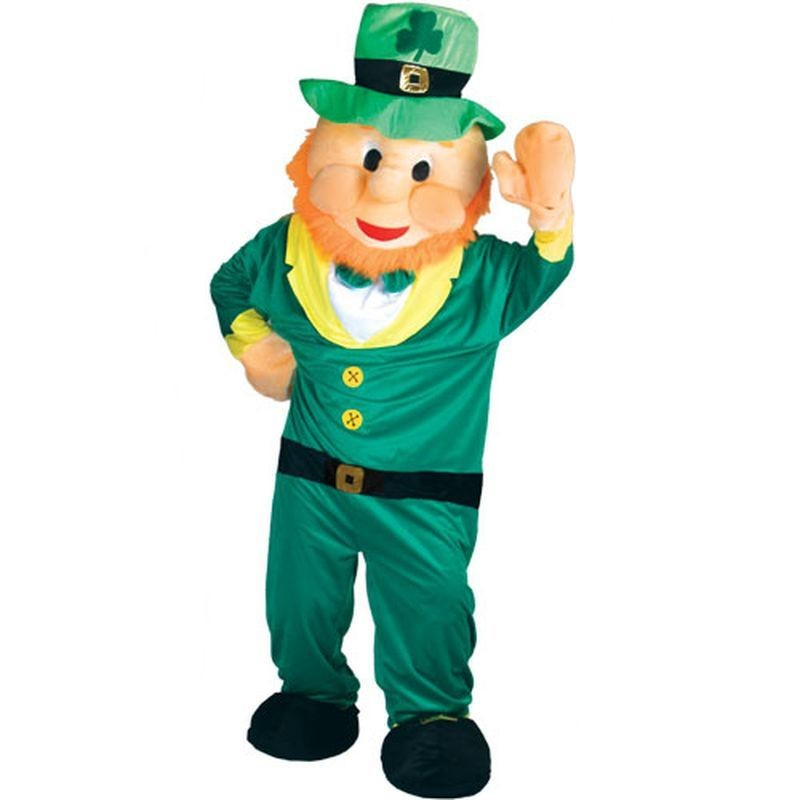 Leprechaun Mascot Fancy Dress Costume (Cultures)