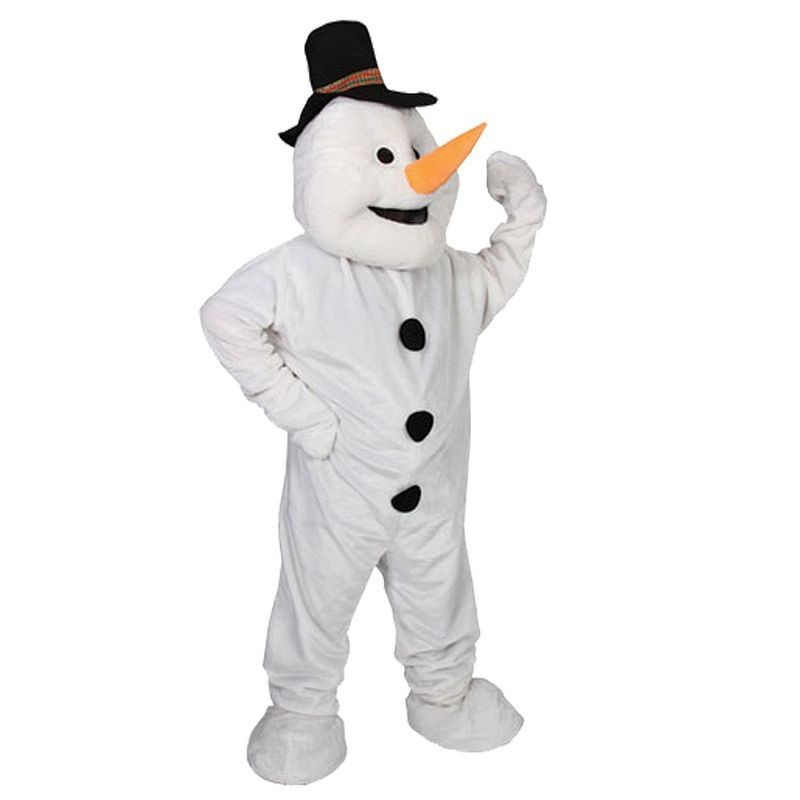 Snowman Mascot Fancy Dress (Christmas)