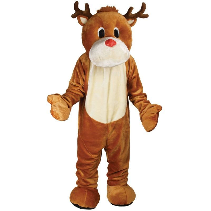 Reindeer Mascot Fancy Dress (Christmas)