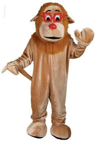 Cartoon Lion Fancy Dress (Animals)
