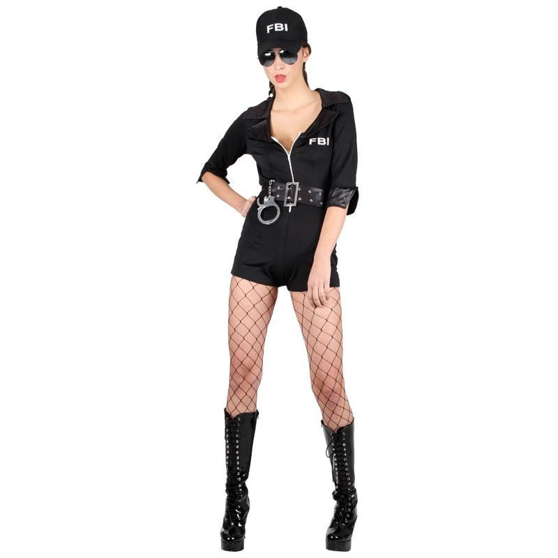 Ladies Frisky Body Inspector  Costume  (Sexy)