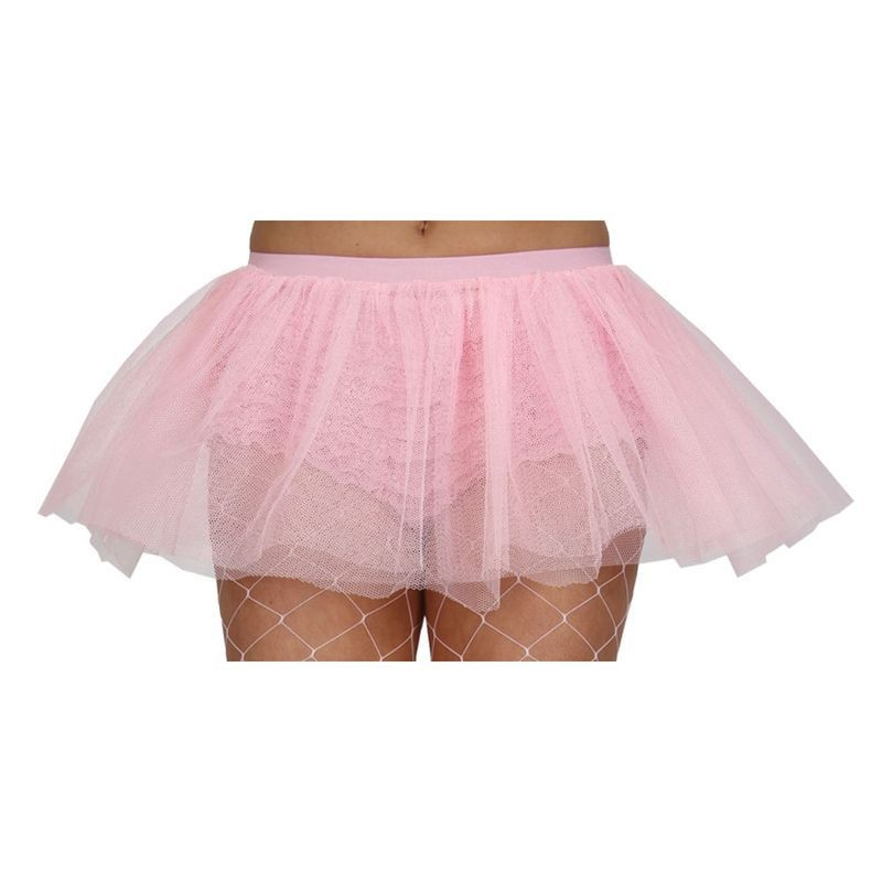 Ladies Tu-Tu Baby Pink / 3 Layer (Large) Tutus - Large (Pink)