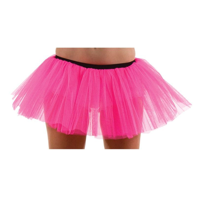 Ladies Tu Tu Hot Pink / 3 Layer (Large) Tutus - Large (Pink)