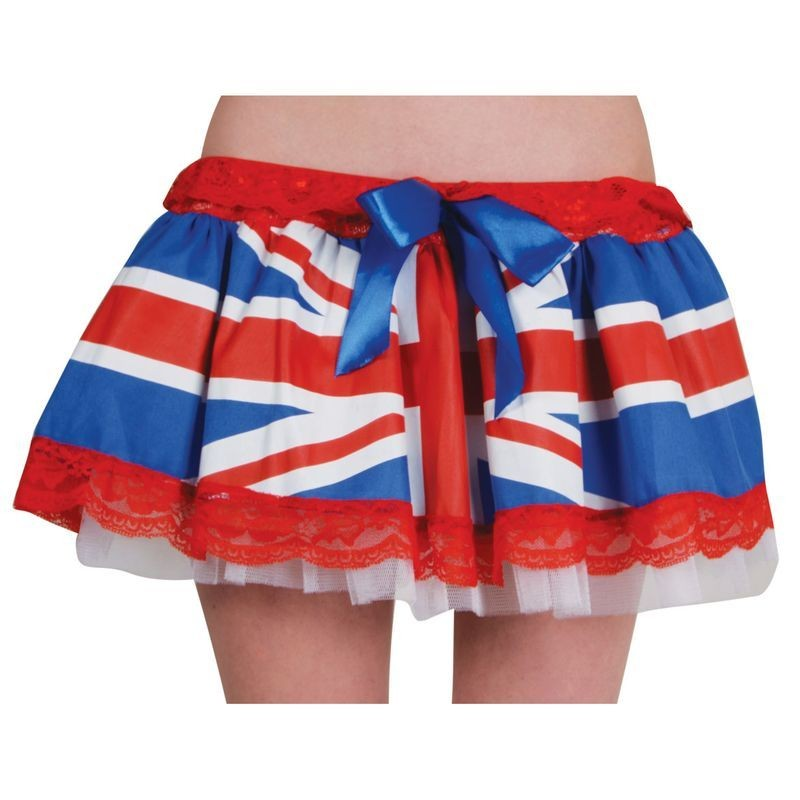 Ladies G.B Tutu Tutus - (Red, White, Blue)