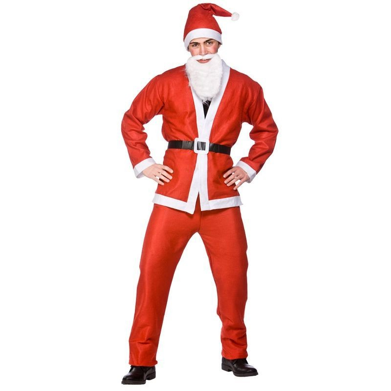 Budget Santa Suit Fancy Dress (Christmas)