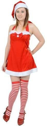 Santa'S Saucy Gift Fancy Dress (Christmas)