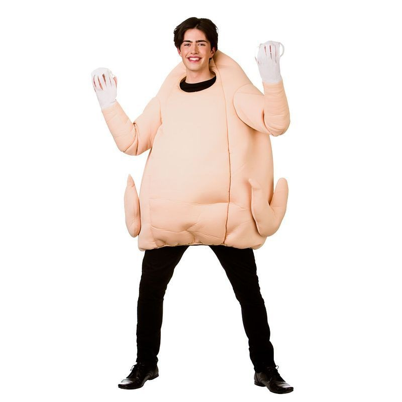Adult Giant Turkey Christmas Fancy Dress Costume