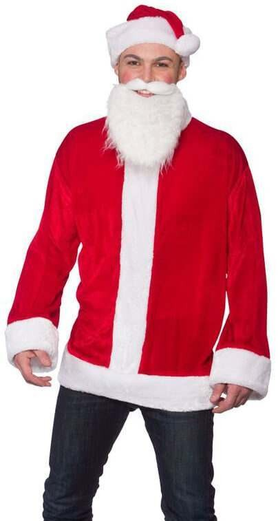 Mens Cool Santa Set Christmas Fancy Dress Costume