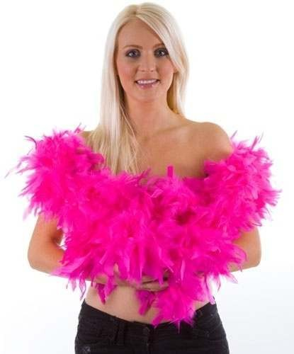 Deluxe Supersoft Feather Boa 175Gm/1.8M - Fancy Dress