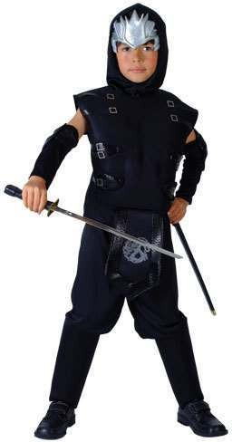 Boy'S Ninja Master Fancy Dress Costume