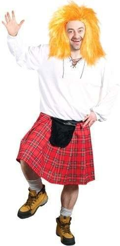 """Big"" Jock The Crazy Scot Fancy Dress Costume Mens (Cultures)"