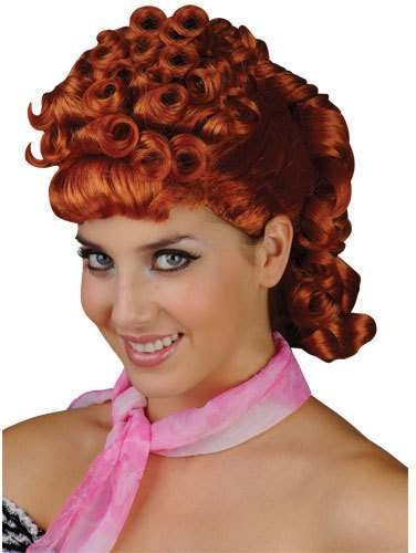 Nifty Fifties Wig - Fancy Dress Ladies