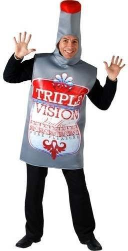 Triple Vision Vodka Fancy Dress Costume