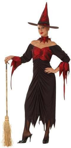 Hocus Pocus Witch Fancy Dress Costume Ladies (Halloween)