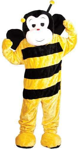 Bumble Bee Mascot Fancy Dress Costume (Animals)