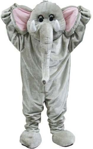 Elephant Mascot Fancy Dress Costume (Animals)