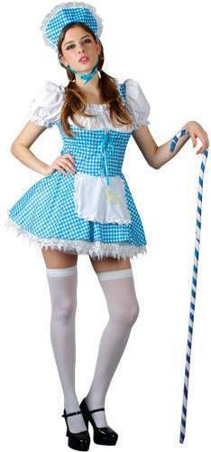 Little Bo Peep Fancy Dress Costume Ladies (Fairy Tales)