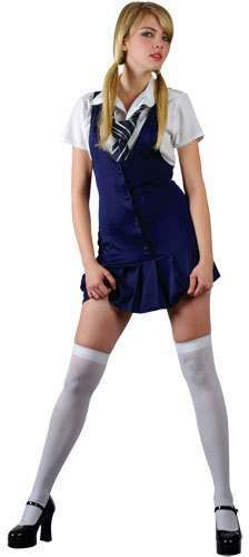Schools Out Fancy Dress Costume Ladies (School)