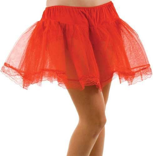 Red Petticoat - Fancy Dress Ladies