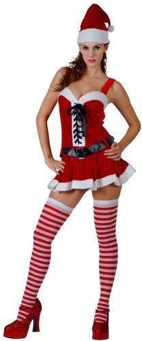 Santa'S Sexy Surprise Fancy Dress Costume Ladies (Christmas)