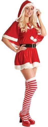 Sexy Santa Baby Fancy Dress Costume Ladies (Christmas)