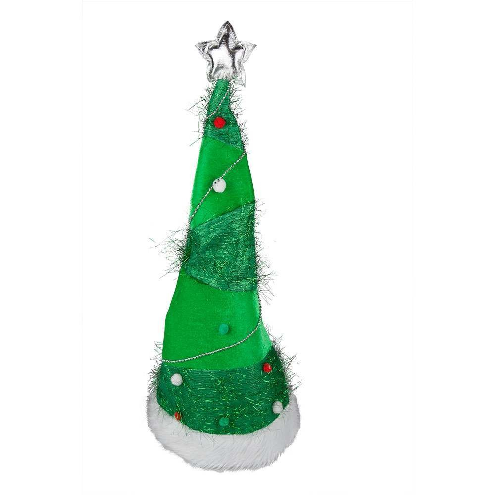 Long - Stand Up Xmas Tree Hat Christmas Hats