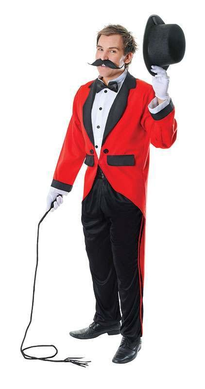 Ringmaster Fancy Dress Costume