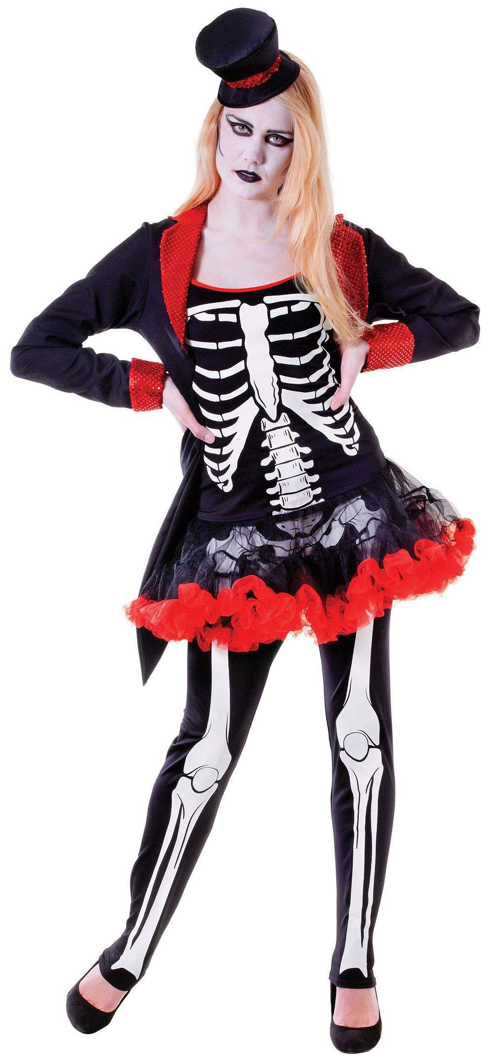 Mrs Bone Jangles Fancy Dress Costume