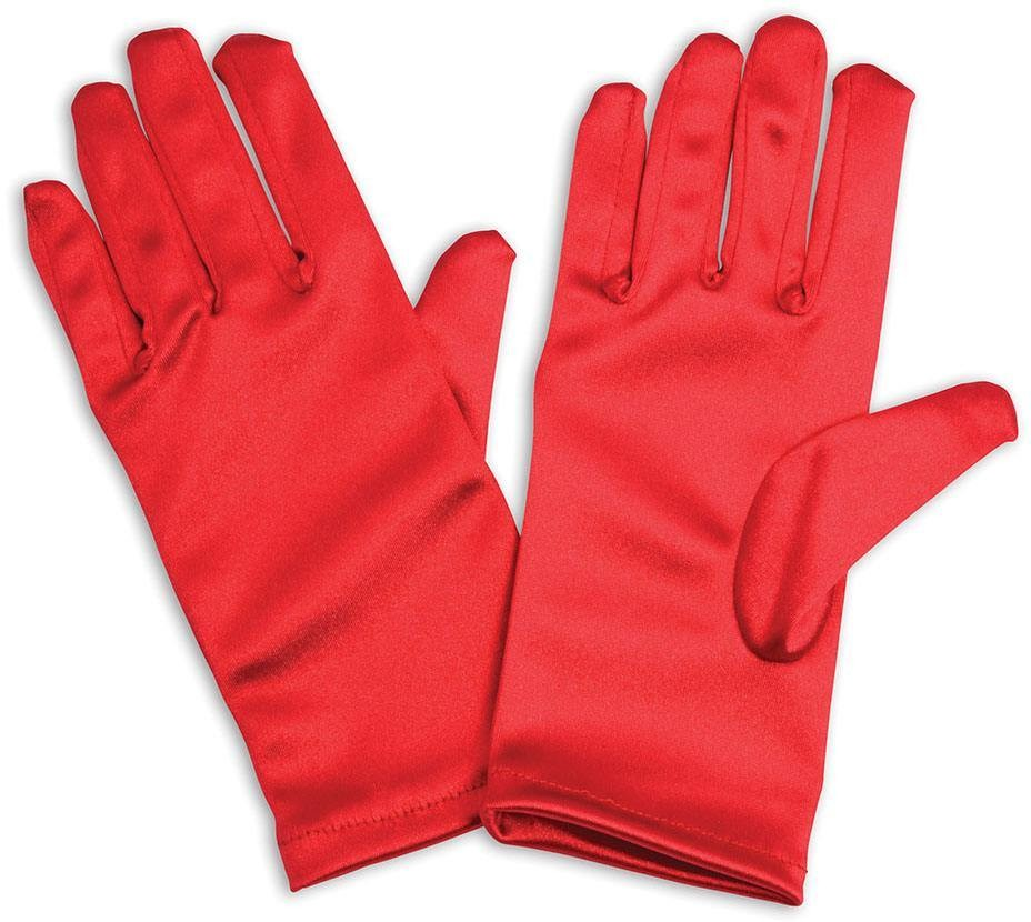 Gloves. Childs, Red Accessories