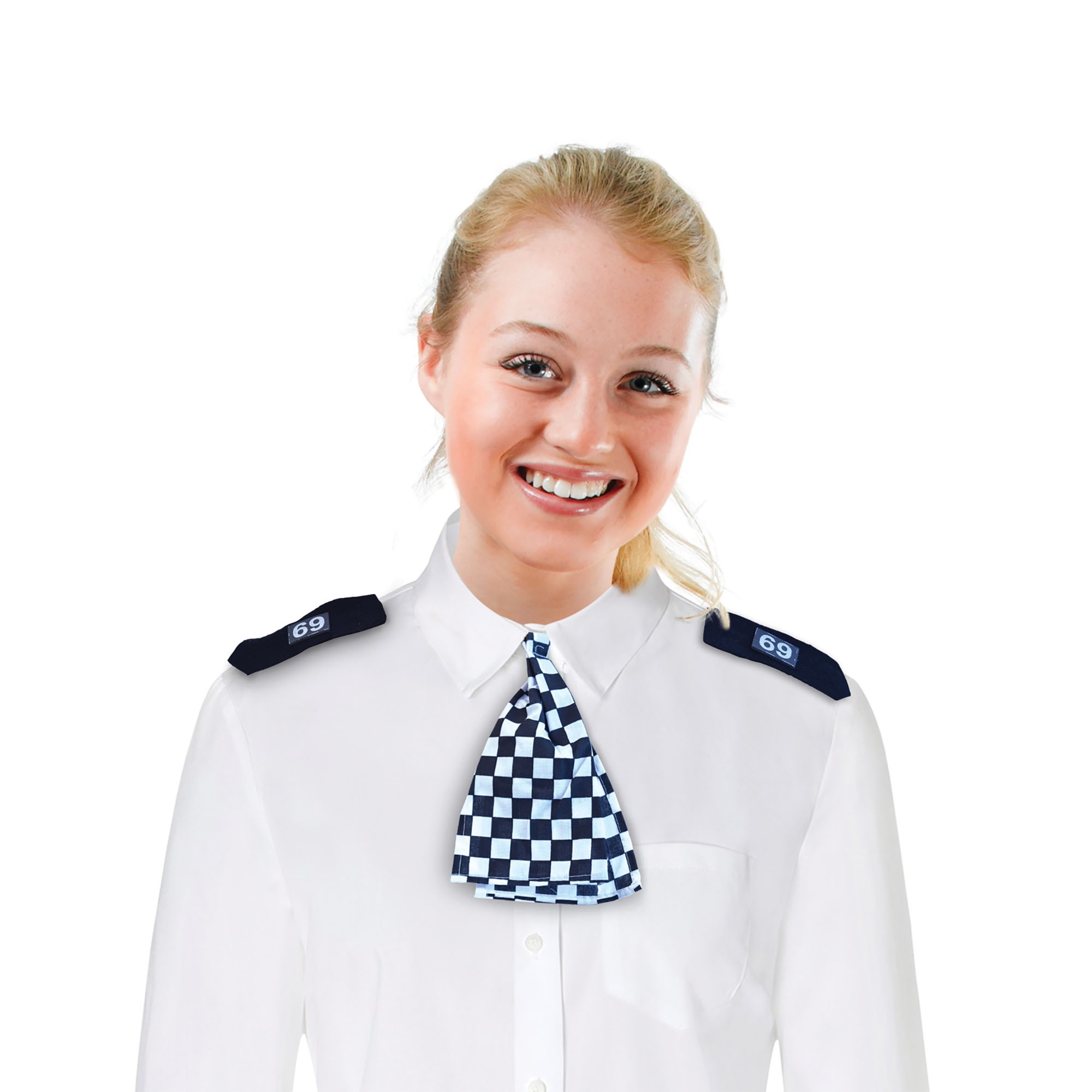 Wpc Scarf (Cops/Robbers Fancy Dress Disguises)