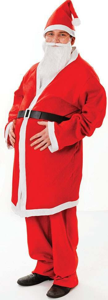 Santa Budget Fancy Dress Costume