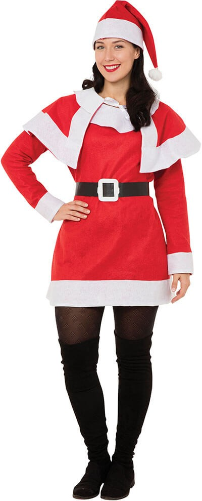 Miss Santa Budget Fancy Dress Costume