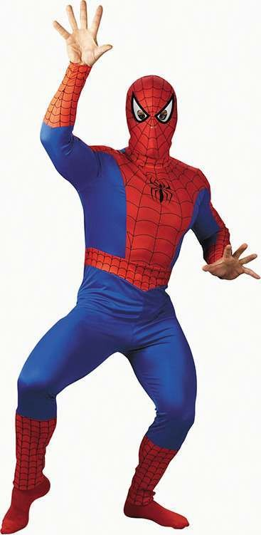 Spiderman Classic (Fancy Dress Costume)