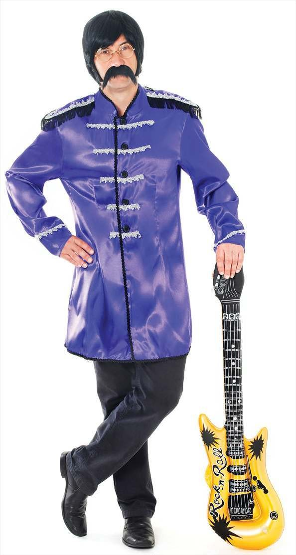 Sgt Peppers Jacket. Purple Fancy Dress Costume