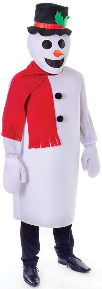 Snowman Set Fancy Dress Costume