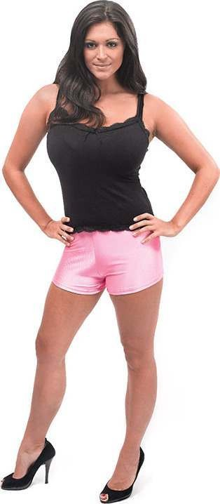 Hot Pants. Bright Pink (Fancy Dress Costume)